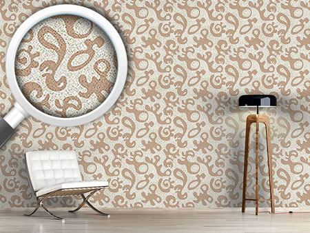 Pattern Wallpaper Forms and Dots