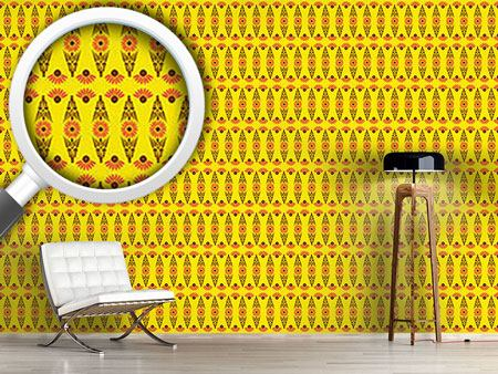 Pattern Wallpaper Sun Worshiper