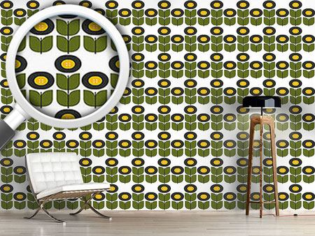 Pattern Wallpaper Retro Tull