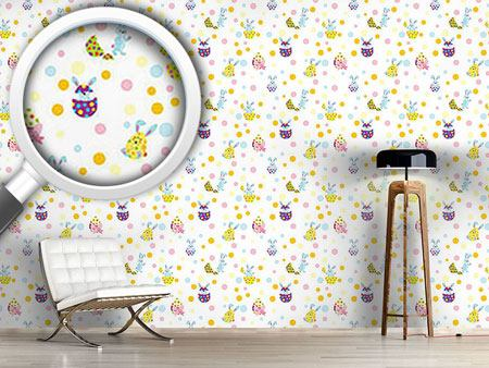 Pattern Wallpaper Egg Surprise