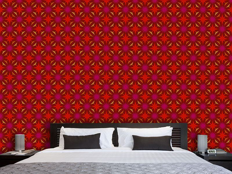 Pattern Wallpaper Etoiles De Gaudy