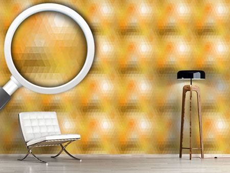 Pattern Wallpaper Disco Gold