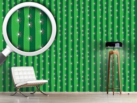 Pattern Wallpaper My Green Cactus