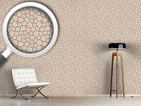 Pattern Wallpaper Bride Roses