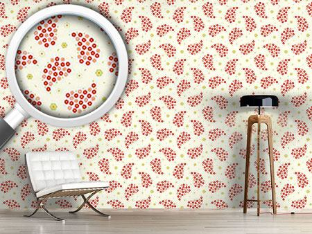 Pattern Wallpaper Mini Flowers