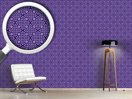 Pattern Wallpaper Violettas Dream Journeys