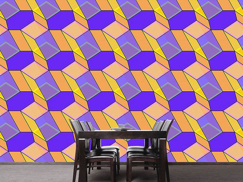 Pattern Wallpaper Facets Of Prisma