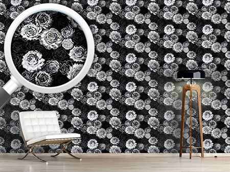 Pattern Wallpaper Where The Wild Roses Grow