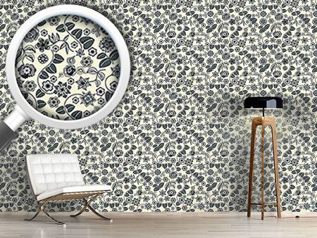 Pattern Wallpaper Floral Almrausch By Day