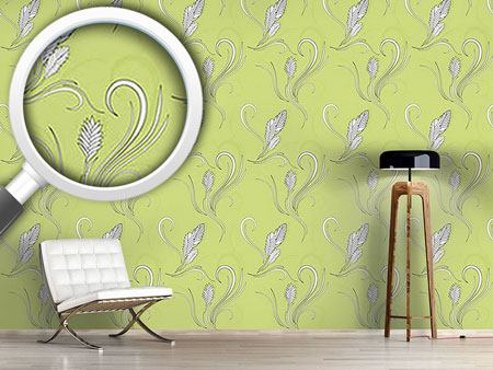 Pattern Wallpaper Bromelia