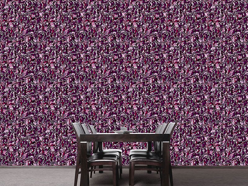 Pattern Wallpaper Choco Passion