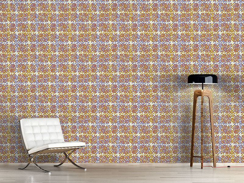 Pattern Wallpaper Pixel Roses