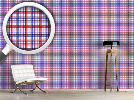 Pattern Wallpaper Classic Check