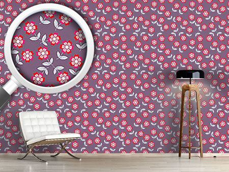 Pattern Wallpaper Flower Kate