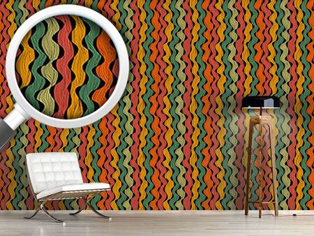 Pattern Wallpaper Permanent Waves