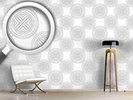 Pattern Wallpaper Departure Of The Circles