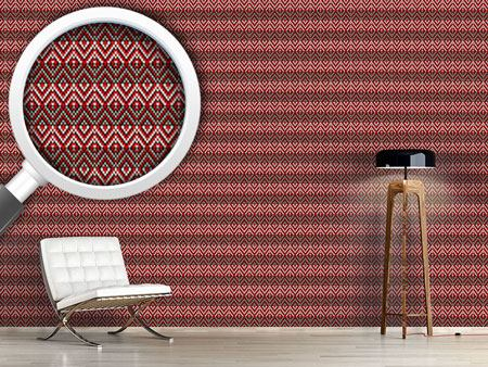 Pattern Wallpaper Aztec Elegance