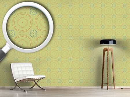 Pattern Wallpaper Echo Circles