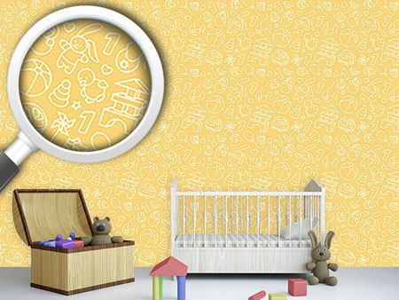 Pattern Wallpaper Toddler Toys