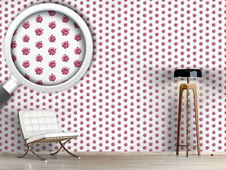 Pattern Wallpaper Splendid English Roses