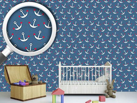 Pattern Wallpaper Love Is Anchor