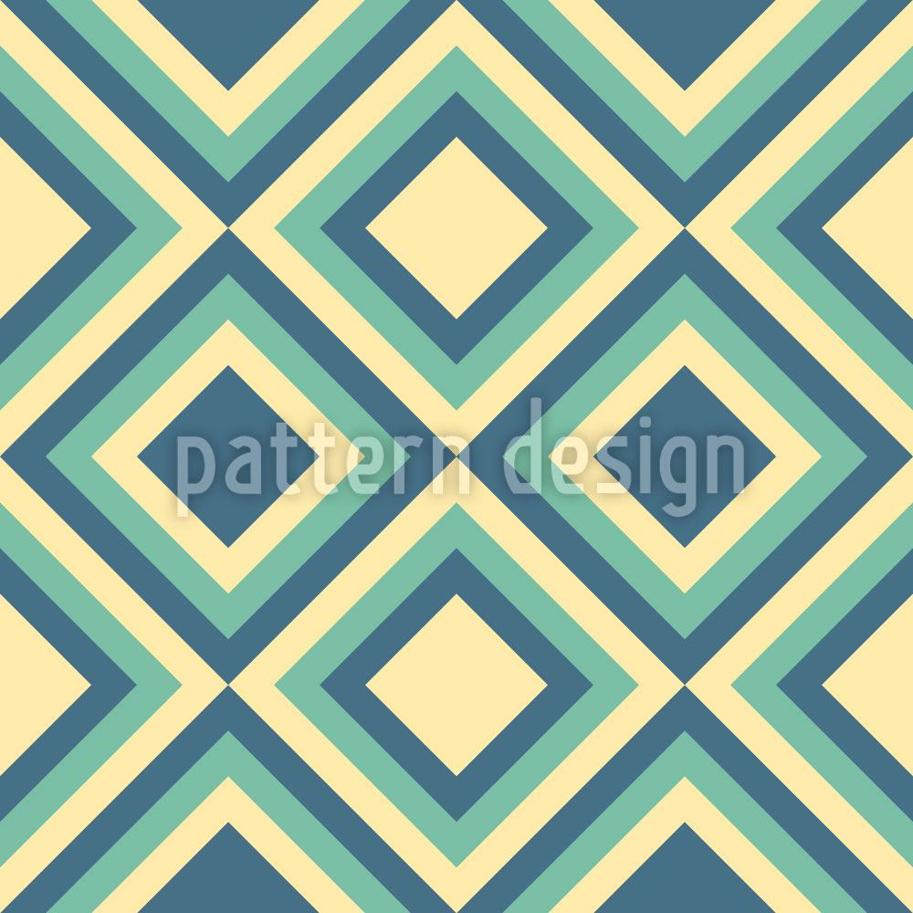 Pattern Wallpaper Iceberg Squares
