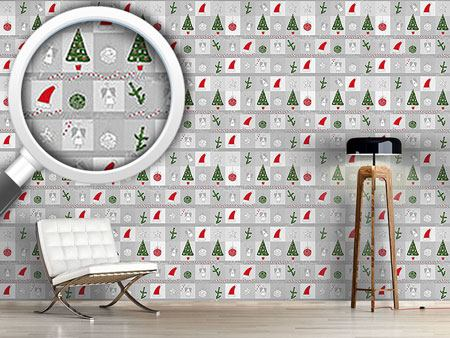 Pattern Wallpaper Christmas Dream