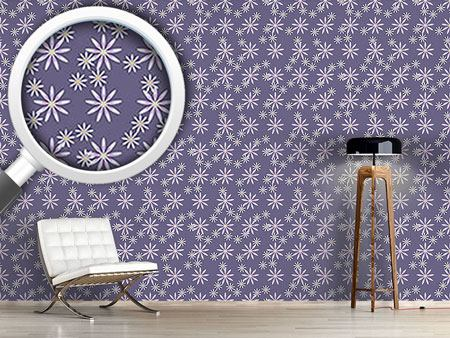Pattern Wallpaper Aster