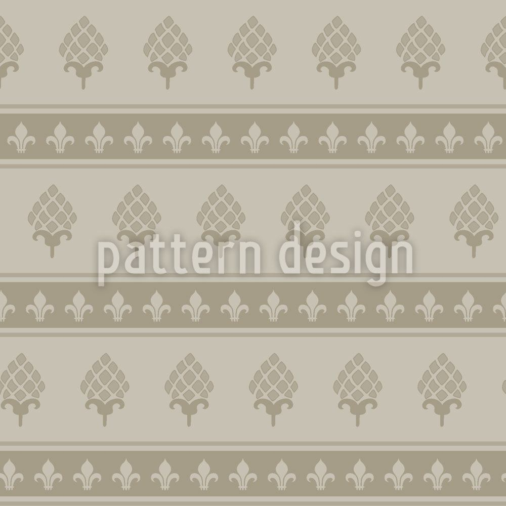 Pattern Wallpaper Royal Bourbon