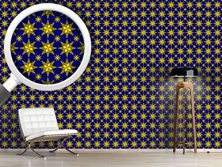 Pattern Wallpaper Stary Night