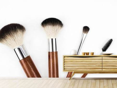 Photo Wallpaper Make-up brush