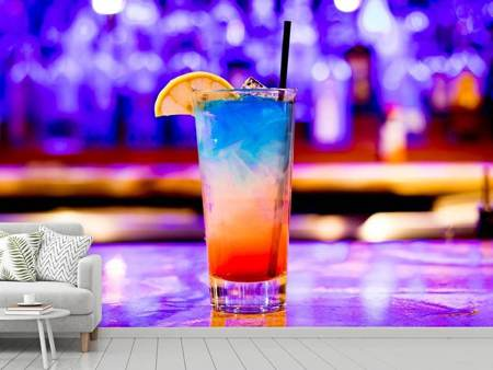 Fototapet Colorful cocktail