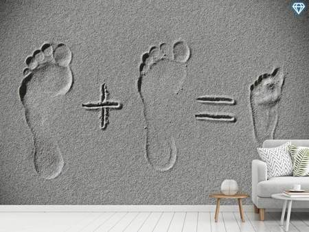 Photo Wallpaper Sand Arithmetic