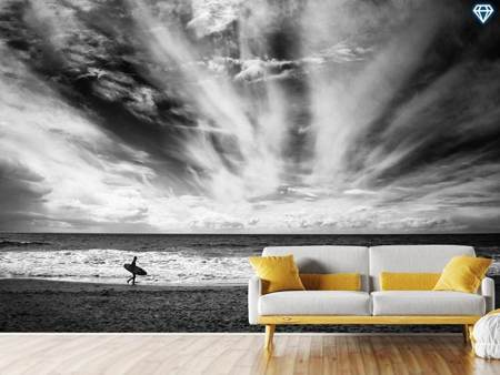 Photo Wallpaper The Loneliness Of A Surfer