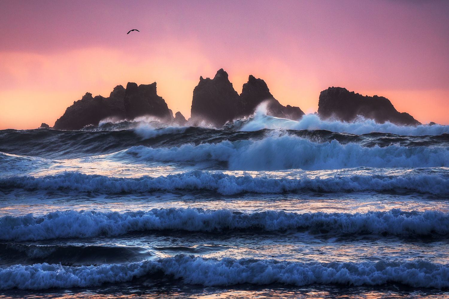 Photo Wallpaper Bandon Beach Layers
