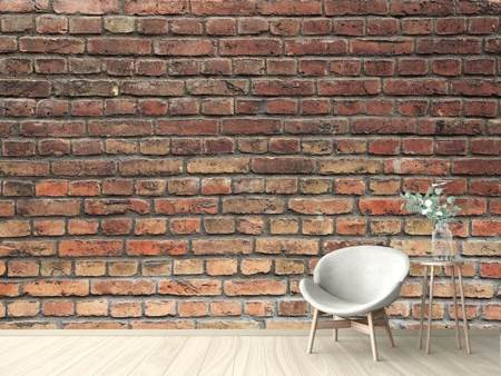 Fototapet Brown Brick Wall