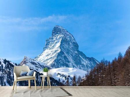 Photo Wallpaper The Majestic Matterhorn
