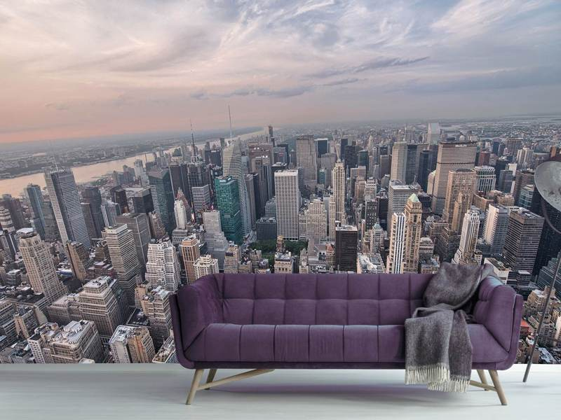 Photo Wallpaper Skyline View Over Manhattan
