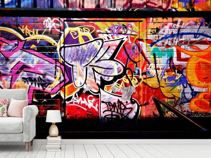 Photo Wallpaper Graffiti Wall Art
