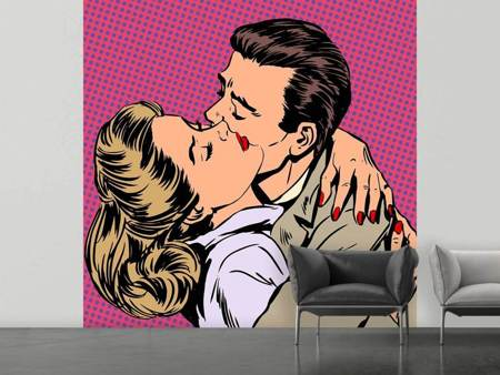 Photo Wallpaper Pop Art Longing